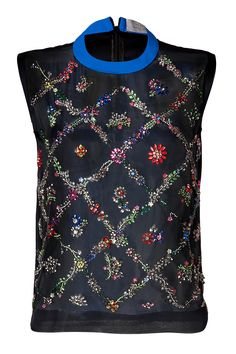 Embellished Aden Top in Multi from PREEN BY THORNTON BREGAZZI | Luxury fashion online | STYLEBOP.com