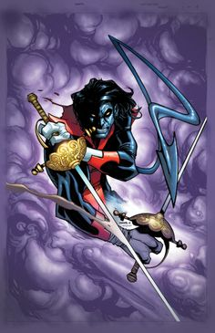 NIGHTCRAWLER #1 - Written by CHRIS CLAREMONT / Art by TODD NAUCK / Cover by CHRIS SAMNEE and Variant Cover by HUMBERTO RAMOS
