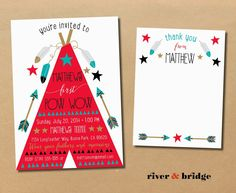 river & bridge: pow wow // first birthday party
