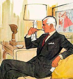 Kuppenheimer suit, 1960