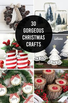 30 Gorgeous Christmas Crafts YOU Can Make - It's Always Autumn