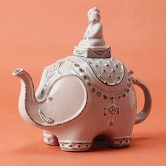 Elephant teapot by fran