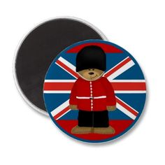 Royal Guard Bear Fridge #Magnet  Cute #UK #souvenir