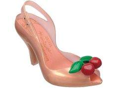 Vivienne Westwood Melissa Cherry Jelly Shoes in pink