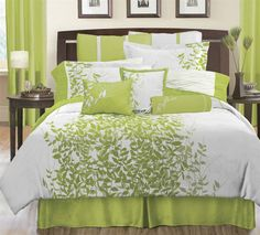 KB - Quilt Cover - gorgeous leaf panel and colours