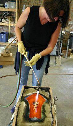 Door County Artist, Stephanie Trenchard: Paintings in Glass--Popelka Trenchard Art Gallery & Glass Studio.