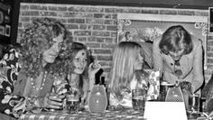 robert plant, tyla, me (morgana welch), john paul jones...the story is in Hollywood Diaries