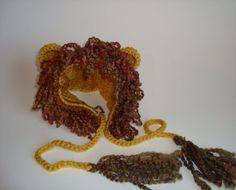 Crochet Lion Baby Hat Animal Hat Photo Prop  by SuperCrochetMom, $3.99