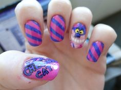 Cheshire Cat - Nail Art Gallery by NAILS Magazine