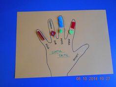 the five senses Manado, Human Body, Crafts For Kids, Kindergarten, Peace, Pinocchio, Felt, Crafts For Children, Felting
