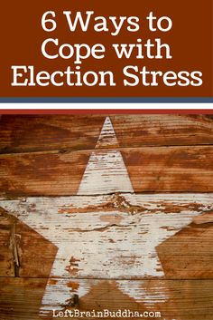 Manage your election stress with mindfulness!