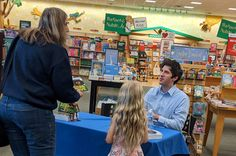 A picture of Josh Martin and his very first Barnes and Noble customer! Books, Pictures, Photos, Libros, Book, Photo Illustration, Book Illustrations, Resim, Libri