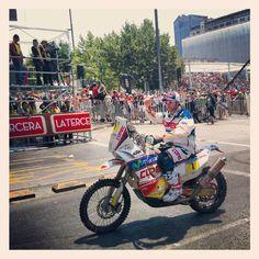 Chaleco Lopez 3rd place Dakar 2013