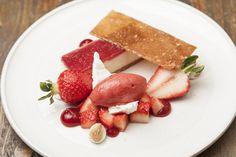White chocolate cheesecake with Sweet Eve strawberries by Matt Weedon - Sweetevestrawberry.co.uk/recipes