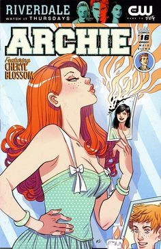 Archie n°16 (18.01.2017) //  Dilton Doiley, Riverdale's smartest kid, is in the spotlight — but Reggie Mantle has a vested interest in taking him out! Meanwhile, Cheryl Blossom plans her ultimate revenge against Veronica!  #archie #comics #cherry #lossom #veronica