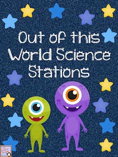The Science Penguin: Out of This World Science Stations {a free mini-guide}