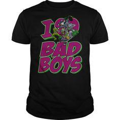 ((Top Tshirt Popular) DC I Heart Bad Boys [TShirt 2016] Hoodies, Funny Tee Shirts