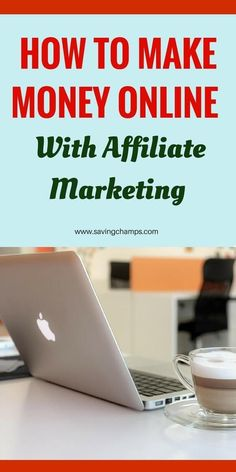 How to make money online with affiliate marketing - Finance tips, saving money, budgeting planner Make Money Blogging, Make Money From Home, Money Tips, Money Saving Tips, Make Money Online, How To Make Money, Money Today, Wordpress For Beginners, Blogging For Beginners