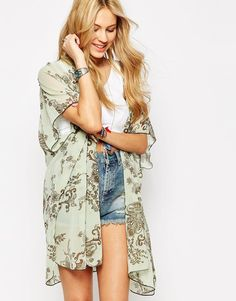 Band+of+Gypsies+Mid+Length+Kimono+in+Paisley+Floral