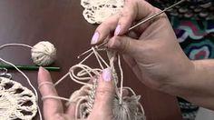 Artesanato - Blusa em tricô e crochê de grampo - YouTube