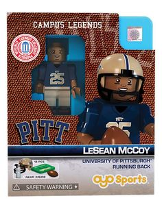 PITT Panthers LESEAN MCCOY College Legend Limited Edition OYO Minifigure