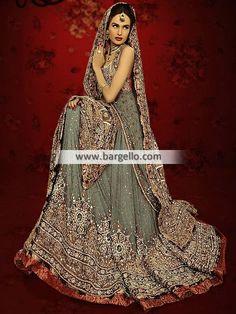 Designer Lajwanti Wedding Lehenga Collection 2014 Ilford London UK Bridal Wears D4741 Bridal Wear