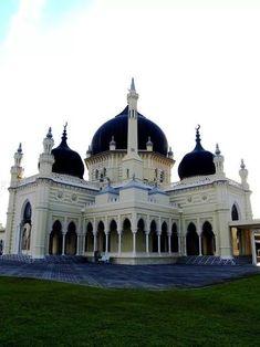 Masjid Zahir in Kedah, Malaysia.