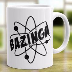 """The Big Bang Theory """"Bazinga"""" Coffee Mug"""