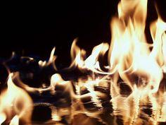 Cool hot flames