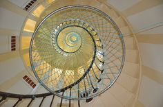 Spiralling Step's of the Amedee Lighthouse