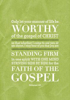 Philippians 1:27 - A new typographic design from Phil Worthington (pworthy27.deviantart.com)