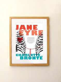 Jane Eyre  A string tied here under my left rib  by PemberleyPond, €15.00 I LOVE THIS!!!