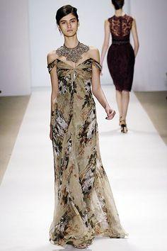 Monique Lhuillier Fall 2006 Ready-to-Wear Fashion Show - Katarina Ivanovska