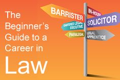 If you think you might be interested in law as a future career, but have little (or no) idea what that really means, check out the Beginner's Guide to a Career in Law