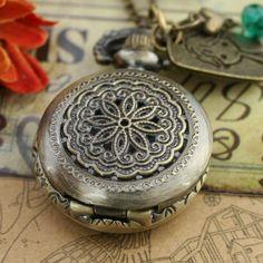 Relojes Vintage como collares