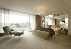 bedroom with indoor/outdoor design