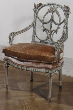 Chair, ca.1780    Venice,Italy    Walnut,