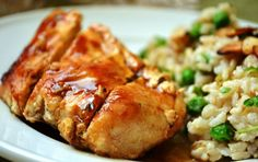 Number of Servings: 4 Ingredients 1 1/2 tsp of dried thyme 1/2 tsp salt 1/4 tsp black pepper 1 tsp olive oil 1lb chicken breast 2 tbsp balsamic vinegar 2 tbsp honey Directions Combine first 3 ingredients; sprinkle over both sides of chicken. Heat oil in a large nonstick skillet over medium-high heat. Add chicken; …