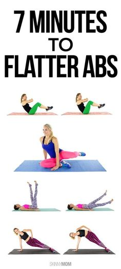 The best core workout in just 7 minutes!