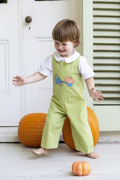 Perfect kids clothing for pumpkin fun!  www.orientexpressed.com