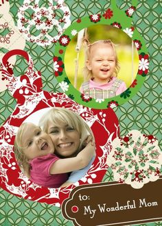 Decoupage Ornaments - Christmas Greeting Cards in Clover | Magnolia Press
