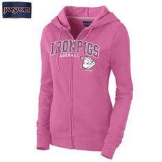 Pink Mila Zip Hood AZ65