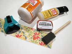 How To DECOUPAGE a Tiny Altoids Tin