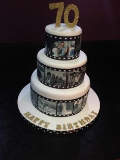 Wedding Gifts For 70 Year Olds : 60th Birthday Cake - Photo Cake - by Zelicious @ CakesDecor.com - cake ...