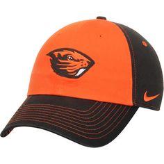Women s Nike Orange Black Oregon State Beavers Logo Adjustable Hat Beaver  Logo 2c44fba3beae