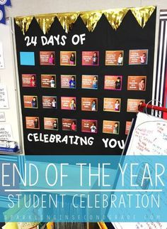 Celebrating the end of the year can be a special time for you and your students, use the end of the year countdown to celebrate their successes!