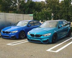 BMW F80 M3 duo blue teal