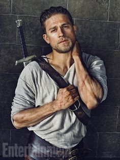 'King Arthur' first look: See Charlie Hunnam (and Excalibur!) on the set of Guy Ritchie's medieval epic     EW.com