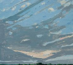 Landscape Paintings ... Harry Stooshinoff: Last Sky July