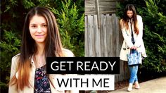 GET READY WITH ME   #mirjanavalentin #youtuber #blogger #makeup #getreadywithme #fashion